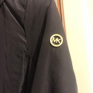Micheal Kors Black and Gold Coat